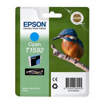 Epson Μελάνι Inkjet T1592 Cyan (T15924010)