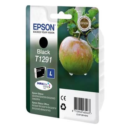 Epson Μελάνι Inkjet T1291 Black (C13T12914012)