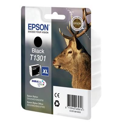 Epson Μελάνι Inkjet T1301 XL Black (C13T13014012)