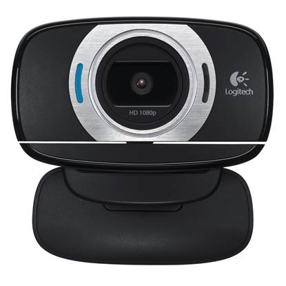 Logitech C615 Webcam (Black,HD)