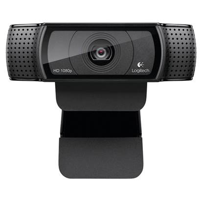 Logitech C920 Webcam (Black,HD)