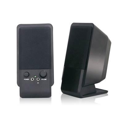 MediaRange Compact desktop Speaker (Black)