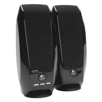 Logitech S150 2.0 Digital USB Speaker System (Black)
