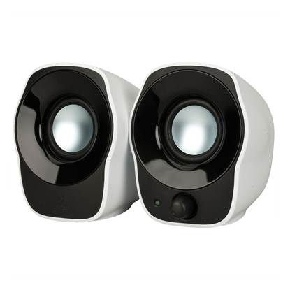 Logitech Z120 2.0 Stereo Speakers (White)
