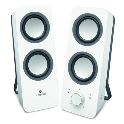 Logitech Z200 2.0 Speakers (White)