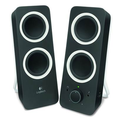 Logitech Z200 2.0 Speakers (Black)