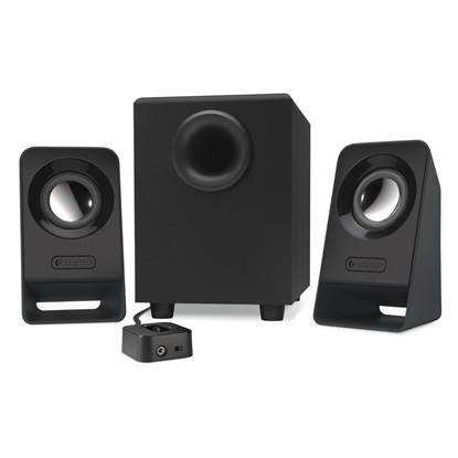 Logitech Z213 2.1 Speakers (BLACK)