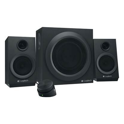 Logitech Z333 2.1 Speaker System (Black)