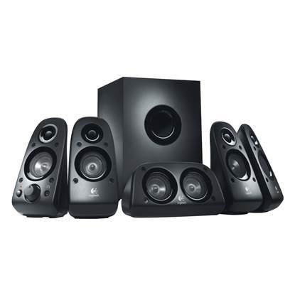 Logitech Z506 5.1 Speaker System (Black)