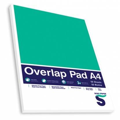 Μπλοκ Σημειώσεων SKAG A4 Με Εξώφυλλο Λευκό 60 gr. (50 Φύλλα)
