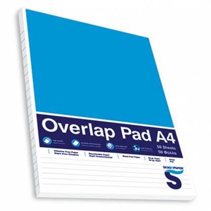 Μπλοκ Σημειώσεων SKAG A4 Με Εξώφυλλο Ριγέ 60 gr. (50 Φύλλα)