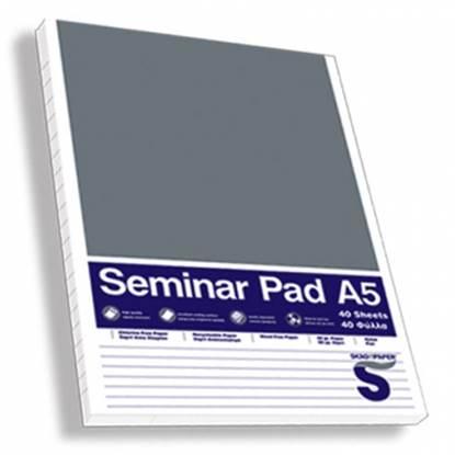 Μπλοκ Σημειώσεων SKAG A5 Seminar Ριγέ 60 gr. (40 Φύλλα)