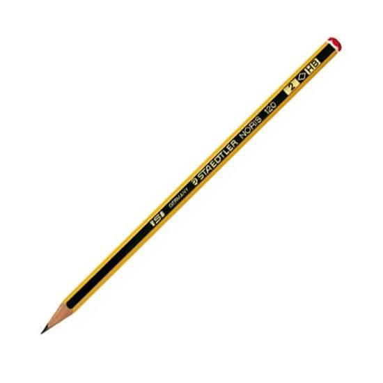 Μολύβι Ξύλινο STAEDTLER Noris 120  HB (Μαύρο) (120-2)