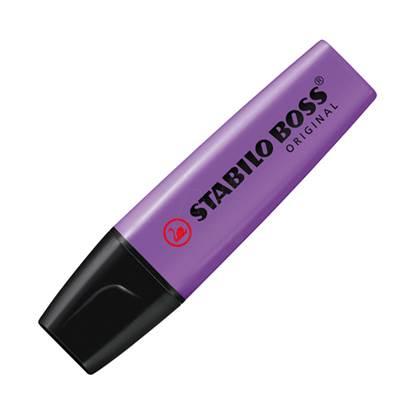 Μαρκαδόρος Υπογράμμισης STABILO BOSS 70/55 2 - 5 mm (Βιολετί) (70/55)