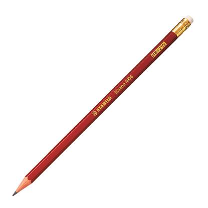 Μολύβι Ξύλινο Με Γόμα STABILO 4906 HB