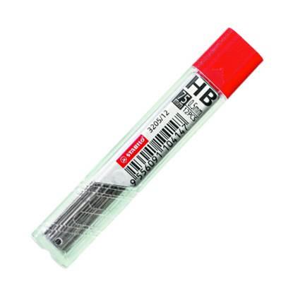 Μύτες Μηχ. Μολυβιού STABILO HB 0.5 mm (3205)