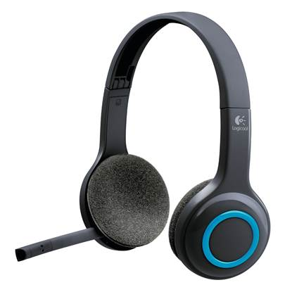 Logitech H600 Headset (Black, Wireless)