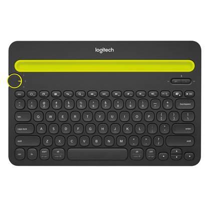 Logitech K480 Bluetooth Keyboard (Black)