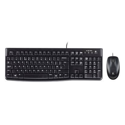 Logitech MK120 Desktop Combo (Black, Wired)
