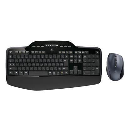 Logitech MK710 Combo Mouse/Keyboard (Black, Wireless)