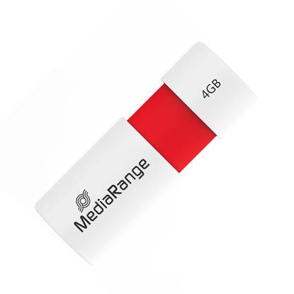 MediaRange USB 2.0 Flash Drive Color Edition 4GB (Red)