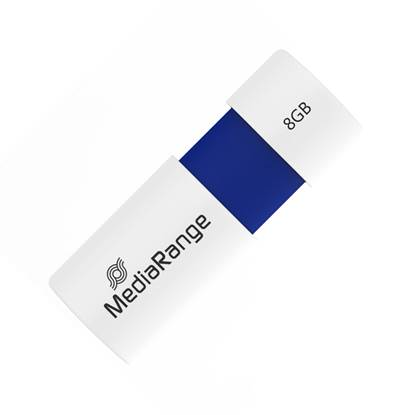 MediaRange USB 2.0 Flash Drive Color Edition 8GB (Blue)