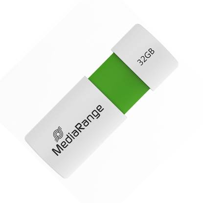 MediaRange USB 2.0 Flash Drive Color Edition 32GB (Green)