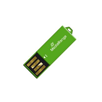 MediaRange USB 2.0 Nano Flash Drive Paper-clip stick 32GB (Green)
