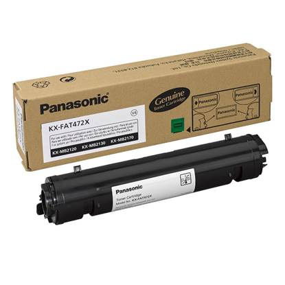 PANASONIC KX-MB 2120/CXW/2130/CX TONER CRTR BLACK (2k) (KX-FAT472X)