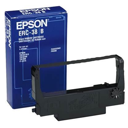 Epson Μελανοταινία ERC-38B Black/Red (C43S015376)