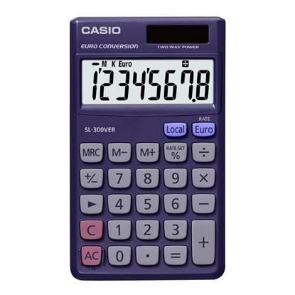 Αριθμομηχανή 8 Ψηφίων Casio (SL-300VER)