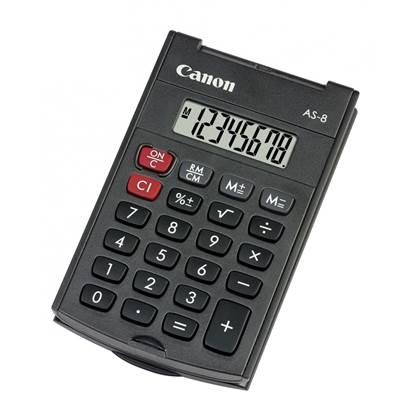 Αριθμομηχανή 8 Ψηφίων Canon AS-8 (AS8)