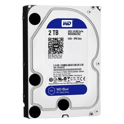 "Western Digital Εσωτερικός Σκληρός Δίσκος 2 TB (Blue 3.5"") (WD20EZRZ)"