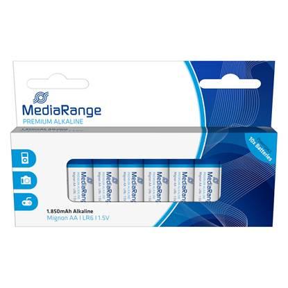 Αλκαλική Μπαταρία MediaRange Premium AA 1.5V (LR6) (10 Pack)
