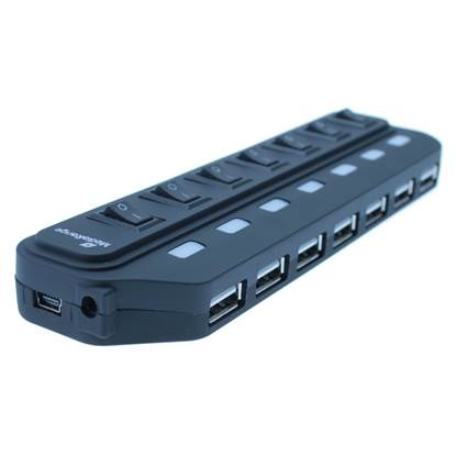 MediaRange Usb Hub 7-Port Usb 2.0 (Black)