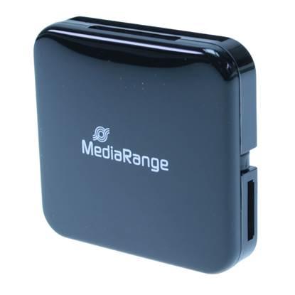 MediaRange USB 2.0 All-in-one Card Reader (Black)