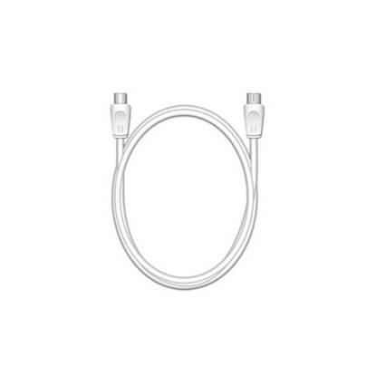 Καλώδιο MediaRange Coax Plug/Coax Socket, 75 Ohm, 1.5M., White