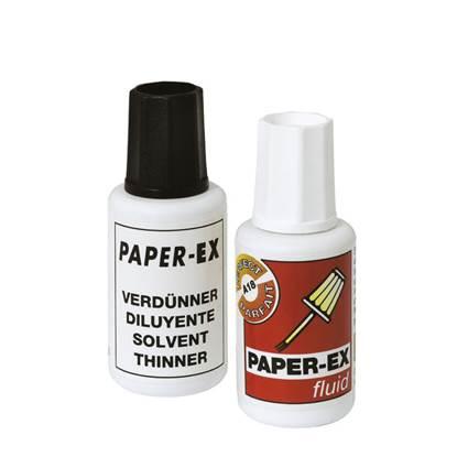 Διορθωτικό Υγρό Paper-Ex 20ml + Διαλυτικό