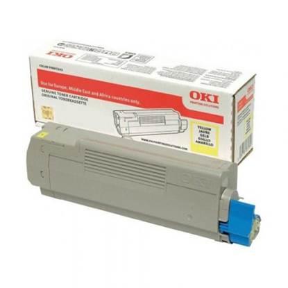 OKI C532/MC573/C542DN/MC563DN TNR YELLOW HC (46490605) 6k