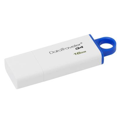 Kingston Data Traveler G4 DTIG4 16GB USB 3.0 (White/Blue)