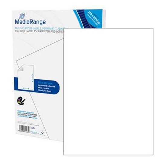 MediaRange Ετικέτες Γενικής Χρήσης 210χ297mm. Λευκές (50 Pack)