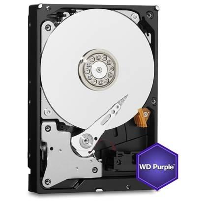 "Western Digital Εσωτερικός Σκληρός Δίσκος 4 TB (Purple 3.5"") (WD40PURZ)"