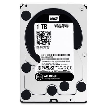 Western Digital Εσωτερικός Σκληρός Δίσκος 1 TB (Caviar Black 3.5'') (WD1003FZEX)