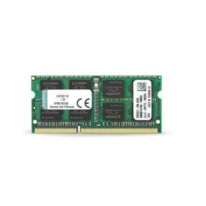 Kingston Μνήμη SODIMM RAM DDR3 1600MHz 8GB C11 (KVR16S11/8)