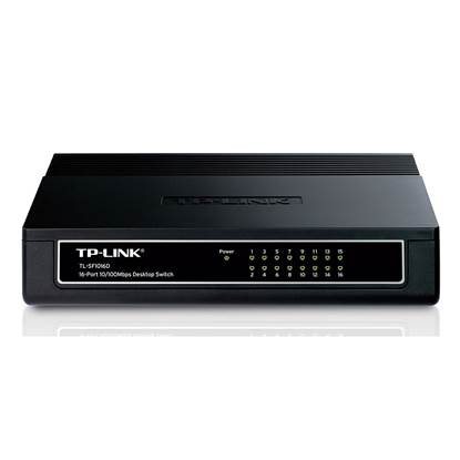 TP-LINK Switch V5 10/100 Mbps 16 Ports (TL-SF1016D)