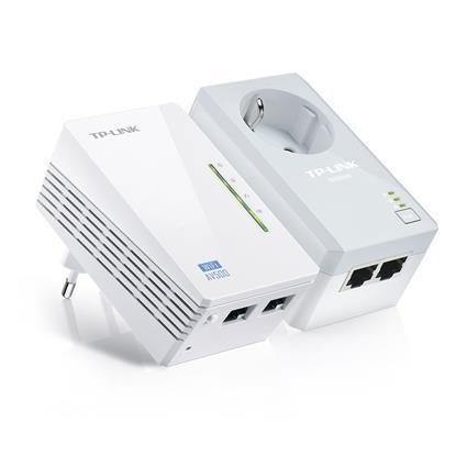 TP-LINK Powerline V1 AV500 Passthrough Wireless Starter (TL-WPA4226KIT)