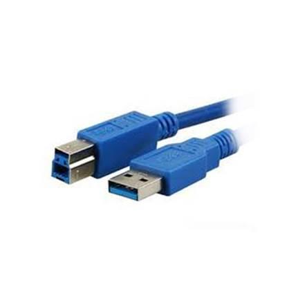 Καλώδιο MediaRange USB 3.0 AM/BM 1.8M Blue