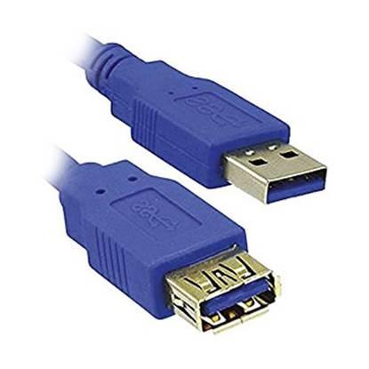 Καλώδιο MediaRange USB 3.0 Extension AM/AF 1.8M Blue