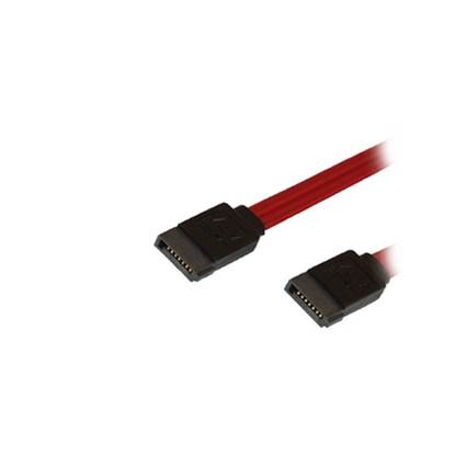 Καλώδιο MediaRange SATA II with safety latch SATA socket (7-pin)/SATA socket (7-pin) 30CM Red