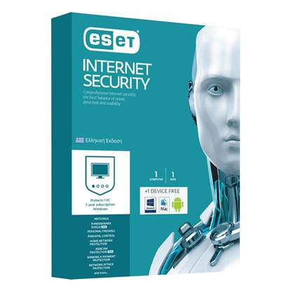 Eset Internet Security v10 1 Licence-1 Year (EIS0G11Y)
